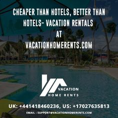 Cheaper than hotels, Better than hotels - Vacation Rentals at Vacation Home Rents . Vacation Home Rentals, Best Vacations, Family Travel, Hotels, Family Trips, Family Destinations