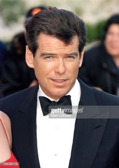 Pierce Brosnan Attends The 51St Bafta British Academy Film Awards At London'S Business Design Centre