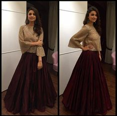 Parineeti Chopra Outfit: Manish Malhotra  -cosmopolitan.in