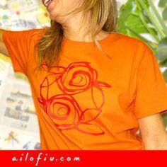 """""""Winter roses"""" t-shirt by ailofiu tees"""
