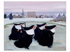 The Vivienne Files: Start with Art: Winter at the Convent by Margaret Loxton