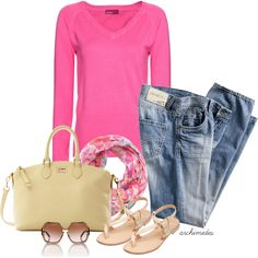 """""""Easy Spring Day"""" by archimedes16 on Polyvore"""