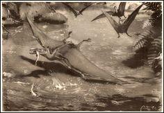 Zdenek Burian - Pterodactylus