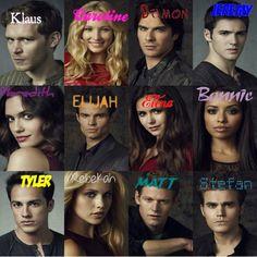 Vampire Diaries personnages C'est moi qui l'ai fait