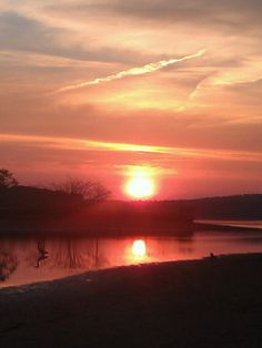Yet another beautiful sunset on the Coosa.