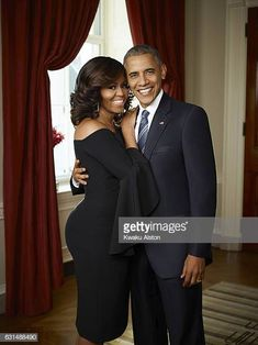 Bararck and Michelle Obama, Essence, October 1, 2016