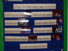 Preschool Classroom | Learning and Teaching With Preschoolers: Classroom Rules