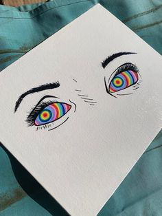 Trippy Drawings, Psychedelic Drawings, Cool Art Drawings, Art Drawings Sketches, Drawing Ideas, Indie Drawings, Easy Canvas Art, Small Canvas Art, Mini Canvas Art
