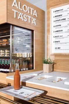 Pasta Box. Brand identity and interior design for a fast casual pasta restaurant chain.
