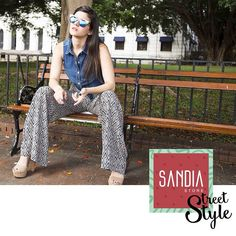 Vístete para ti, no para los demás! Y vístete con #SandiaStreetStyle