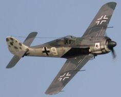 Focke Wulf FW190...Another great WWII fighter: