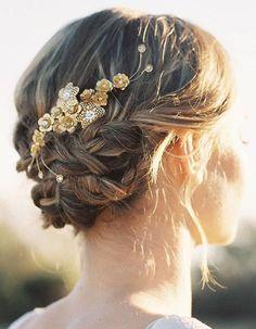 Coiffure mariée cheveux courts - Les plus jolies coiffures de mariées pour…