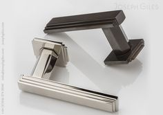 Confidently Art Deco in styling, the Dewhurst Lever Handle makes a dramatic statement. With the bold, stepped design on the lever echoed on the rose, it will add assertive form to help elevate any interior into something quite extraordinary.