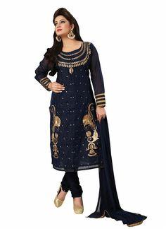 Anarkali Party Pakistani Designer Suit Bollywood Kameez Indian Salwar Wedding…