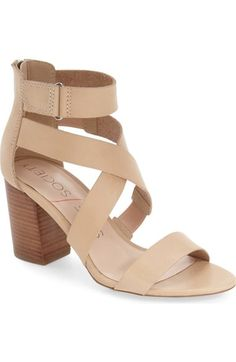 Sole Society 'Sabina' Block Heel Sandal (Women) available at #Nordstrom
