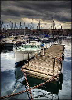 France, Bouches-du-Rhône, Marseille Port