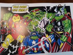 Tmnt meets the Avengers ~LRS