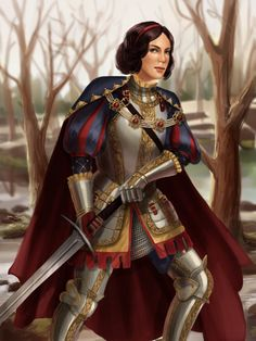 cold-sunlight submitted: After seeing your post and a few others I decided to do a somewhat historical disney princess warrior as well. I decided to set it in the late  German Renaissance, mainly for the sake of being able to draw full plate armor and a longsword. The sleeves and fancy armor are not strictly practical but I wanted to evoke a sense of regality seeing that she is a princess :)