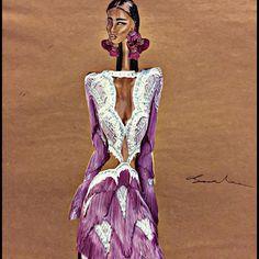 Love it 🌺 @raisavanessa #illustration #art #style #dress #design #raisavanessa #draw #fashion #fashionblogger ionillustration #artofheday #vogue #turkey #magazine #woman #jewellery #drugs