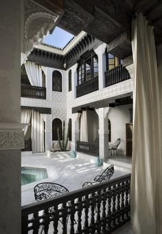 La Sultana - Marrakech, Morocco Located in the. La Sultana - Marrakech, Morocco Located in the. Islamic Architecture, Architecture Design, Garden Architecture, Morrocan Architecture, Beautiful Architecture, Riad Marrakech, Casa Patio, Design Exterior, Moroccan Design