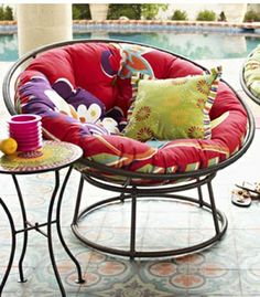 A little backyard inspiration from Pier One Imports