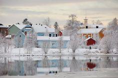 via Nordic Thoughts: Pikisaari Island, Oulu, Finland Helsinki, Lappland, Lofoten, Beautiful World, Beautiful Places, Places To Travel, Places To Visit, Parcs, Winter Wonderland