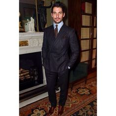 David Gandy at the Style for Soldiers Summer Party in London on June 24, 2015.