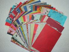 BARGAIN 100 A5 ASSORTED mulberry paper TISSUES 25-35gsm  CRAFTY COW PACK
