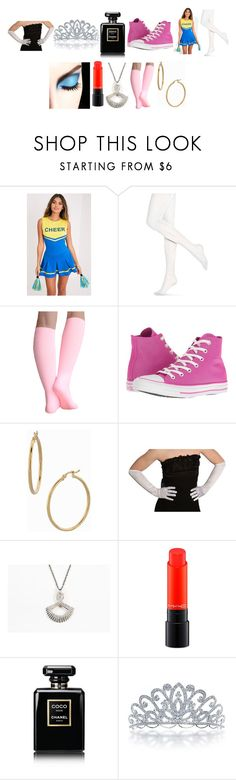 """""""76 sets until I've maintained my status as a style icon"""" by chrisone ❤ liked on Polyvore featuring Hue, Converse, Bony Levy, CORO, MAC Cosmetics, Chanel and Bling Jewelry"""