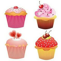 free cupcake clipart. Commercial or personal use ...