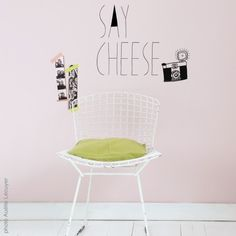 Stickers Say Cheese #mimilou chez Pure Deco