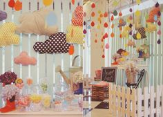 Kirsten's Colorful Raindrops Themed Party – Sweet treats