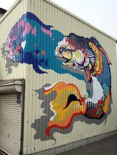 Beyond Banksy Project / Titi Freak - Sakai, Japan
