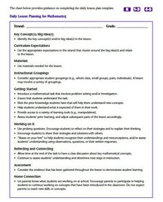 Madeline Hunter Lesson Plan Format Template  Google Search  Th