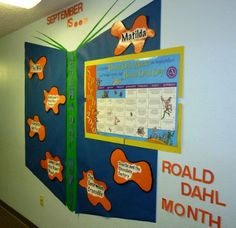 Library Displays: Roald Dahl Day - 13th September