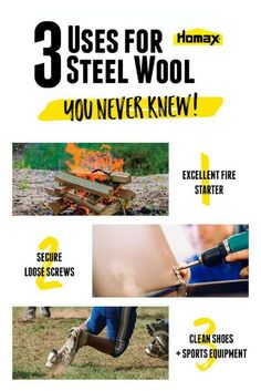Steel Wool Hacks | Steel wool is the do-it-all handy DIY tool! You need to know these clever ways steel wool can be used. From cleaning household items, to refinishing surfaces, and pest control, steel wool is the one item you need in your home repair tool box. Click to learn tips and tricks from Homax® to help make tough home improvement tasks and repairs easier.