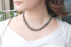 Different Shapes of the Mysterious Black Pearls #blackpearls #fashion #jewelrysupplies