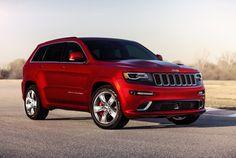 2015 Jeep Grand Cherokee Laredo Red