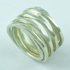 BEAUTIFUL DESIGN !! 925 STERLING SILVER RING _ S. 5.5 US #SilvexImagesIndiaPvtLtd #Spinner