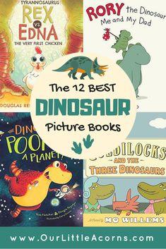 Rory The Dinosaur, Dinosaur Books For Kids, Dinosaur Theme Preschool, Dinosaur Activities, Preschool Books, Toddler Books, Childrens Books, Kids Dinosaurs, Literacy Activities