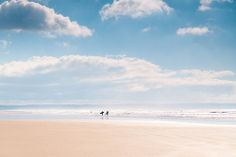 The delectable Saunton Sands in March 2011 - this is one from the archives I had never processed - but I'm in need of some sea and sunshine so have been rifling through my archives! Places Around The World, Around The Worlds, Pastels, Beautiful Places, Sunshine, Clouds, Beach, Water, Outdoor
