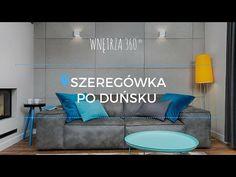 Aranżacja wnętrz domu jednorodzinnego w zabudowie szeregowej #projekt wnętrz - YouTube