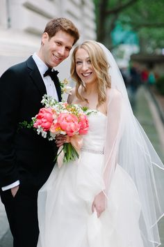 This Bryant Park wedding is the cutest thing ever. End of story. It's the kind of day us girly girls dream of with those classic New York moments that sort of make me wish I called the Big Apple home.Add