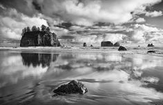 ©mark windom second beach- crying lady rock -quillayute needles Olympic National Park