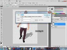 Comment Créer une ombre réaliste avec Photoshop CS5 - YouTube Montage Photo, Photoshop, Office Desk, Tutorials, Desk, Desks