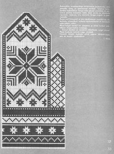 "Вязание. Варежки с жаккардом - ""Зимняя радуга"" | VK Knitting Charts, Knitting Stitches, Hand Knitting, Knitting Patterns, Knitted Mittens Pattern, Knit Mittens, Knitted Gloves, Cross Stitch Cards, Cross Stitch Kits"