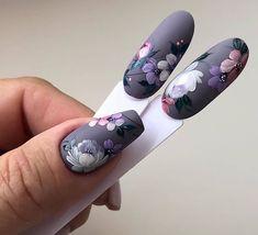 Elegant Nail Designs, Elegant Nails, Gel Nail Designs, Stylish Nails, Gorgeous Nails, Pretty Nails, Diy Ongles, The Art Of Nails, Bridal Nail Art
