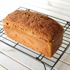 There's nothing better than a loaf of yummy gluten free bread still warm from the oven. It's gluten, dairy, egg, nut and soy free!