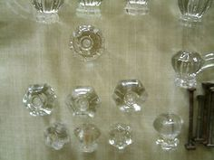 4 inch overall clear glass old town octagon shape cabinet pulls glamorous glass and chrome pinterest