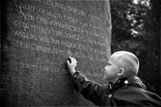 Son at the Memorial Stone  - Aarhus Denmark by Ole Kragekjær Madsen on 500px